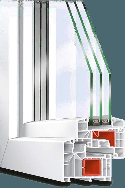 Ideal 8000s Fenêtre Pvc Avec Triple Vitrage Neufferfr
