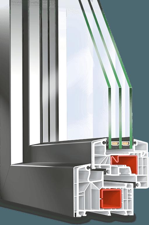 Fenêtre Pvc Alu Avec Profilé Twinset 8000s Neufferfr