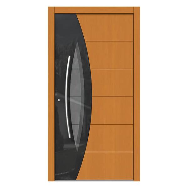 porte d entree en bois massif Porte en bois massif. Une porte du0027entrée ...