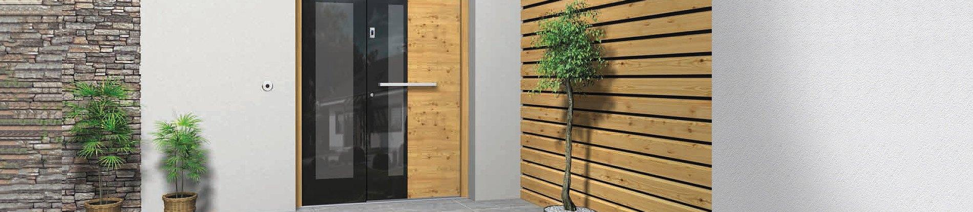Porte D Entrée En Bois Massif Prix portes d'entrée en bois » grand choix sur | neuffer.fr